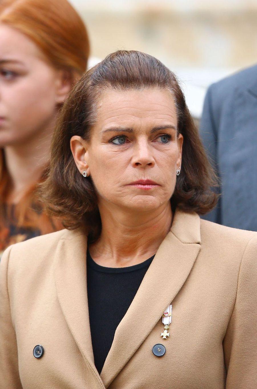 La princesse Stéphanie de Monaco à Monaco le 19 novembre 2016