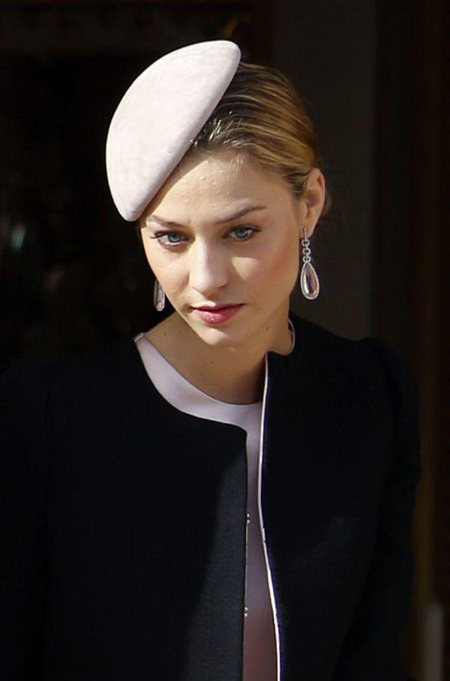 Beatrice Borromeo-Casiraghi à Monaco, le 19 novembre 2015