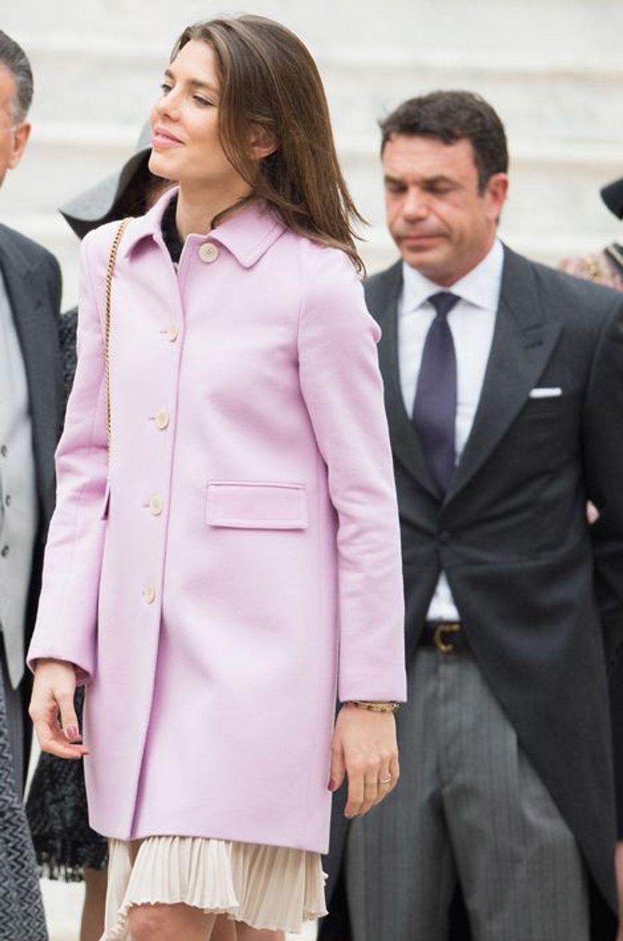 Charlotte Casiraghi à Monaco, le 19 novembre 2015