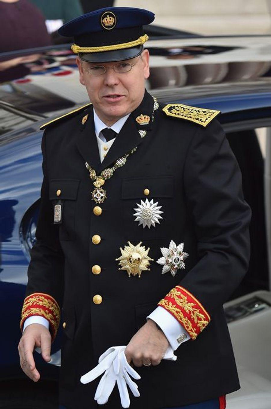Le prince Albert II de Monaco à Monaco, le 19 novembre 2015