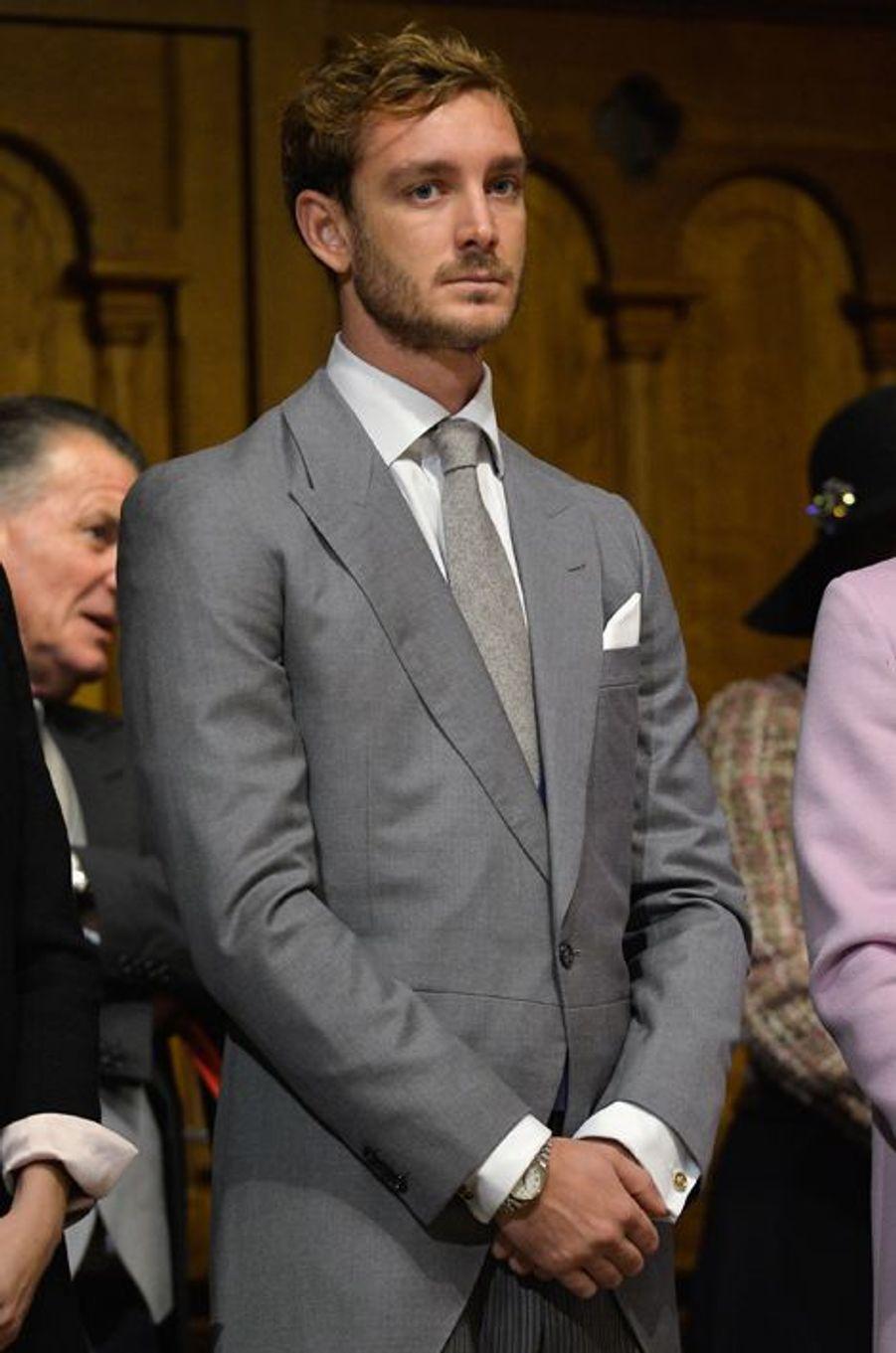 Pierre Casiraghi à Monaco, le 19 novembre 2015