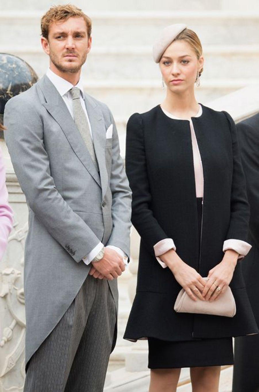 Pierre Casiraghi et sa femme Beatrice Borromeo à Monaco, le 19 novembre 2015