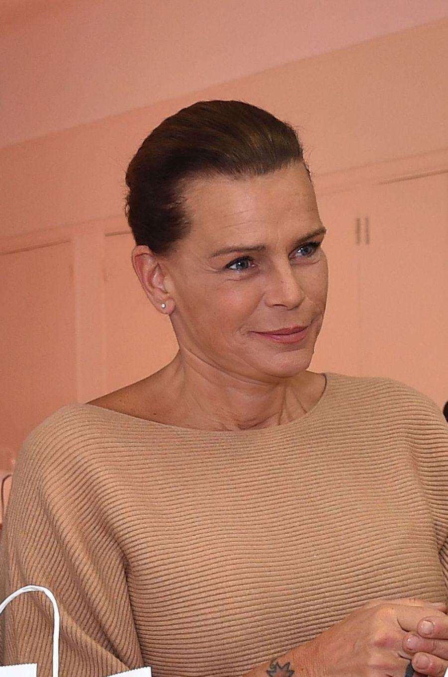 La princesse Stéphanie de Monaco le 18 novembre 2016