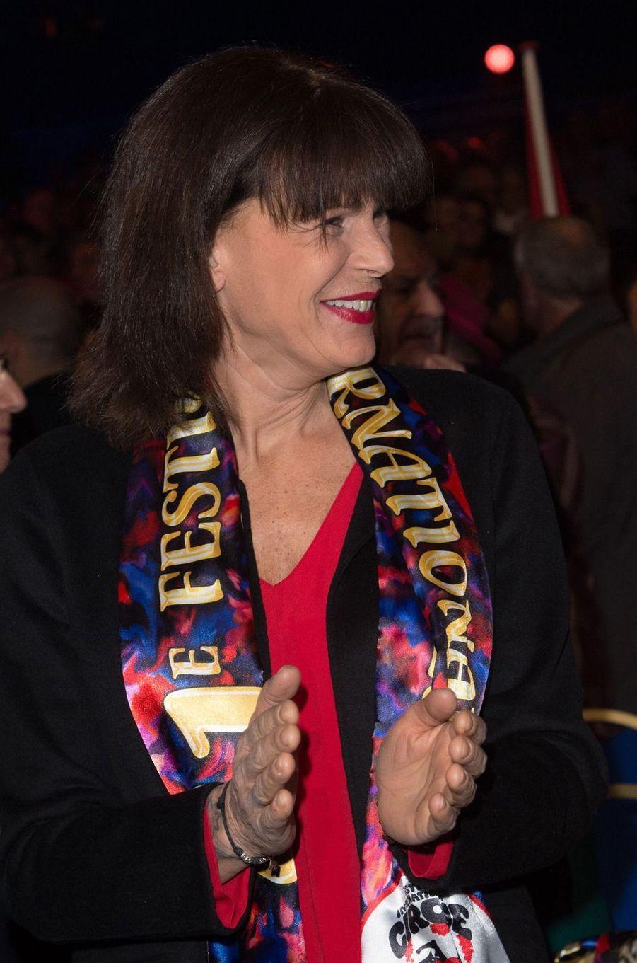 La princesse Stéphanie de Monaco le 21 janvier 2017