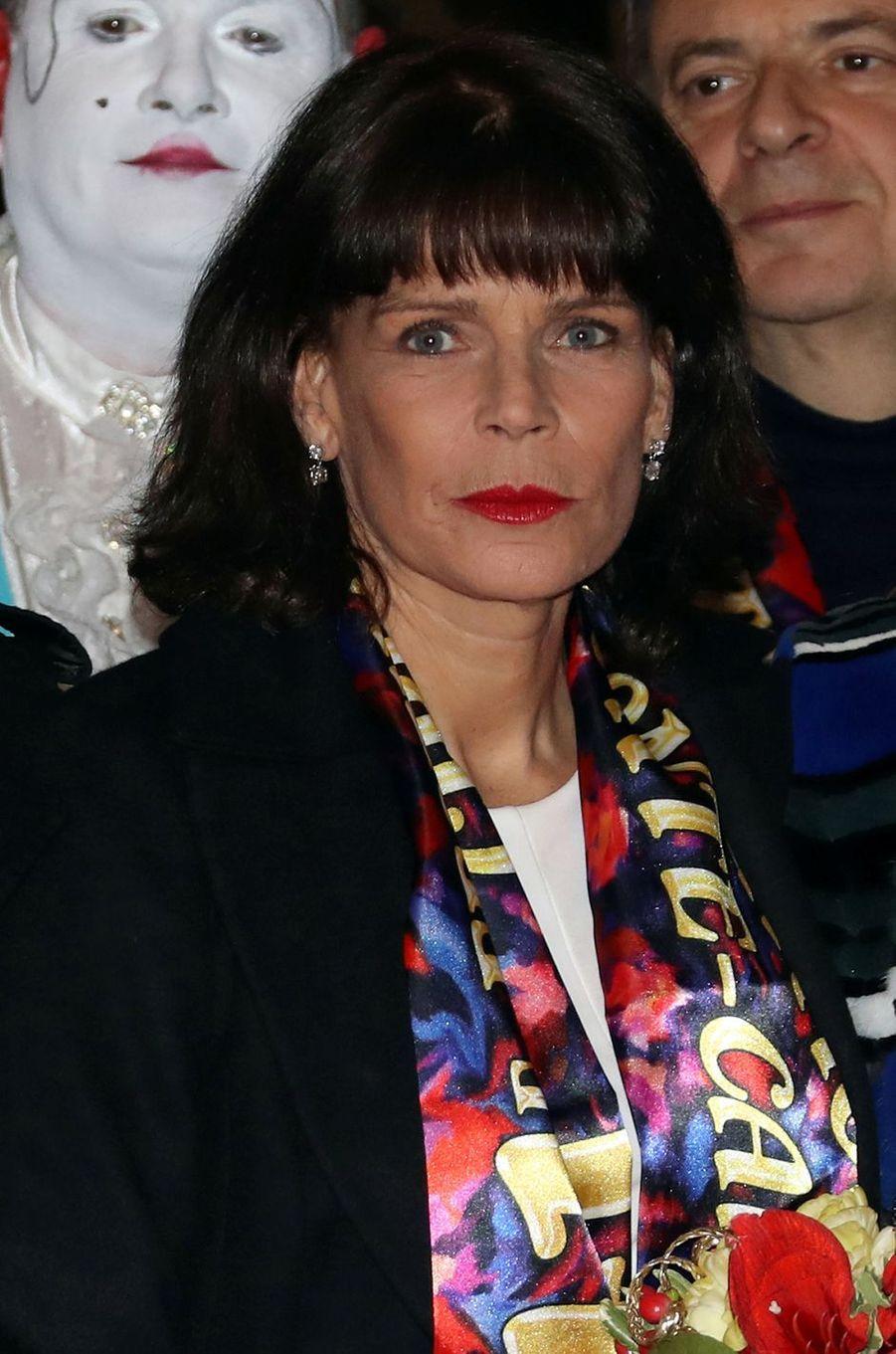 La princesse Stéphanie de Monaco le 19 janvier 2017