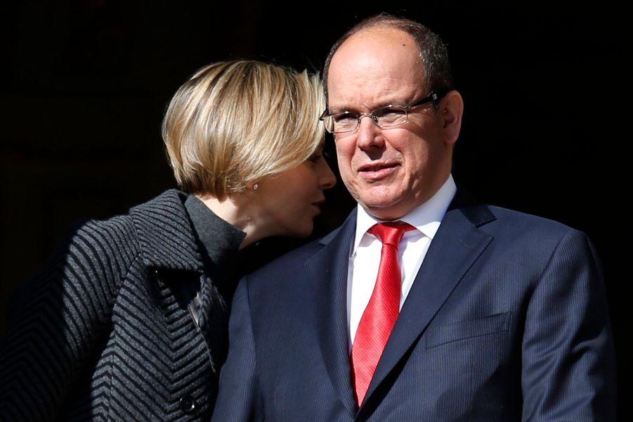 Charlène et Albert réunis pour honorer Sainte-Dévote