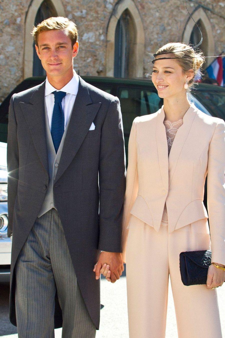 Mariage du Prince Felix de Luxembourg et Claire Lademacher, en septembre 2013 à Saint-Maximin-La-Sainte-Baume dans le Var