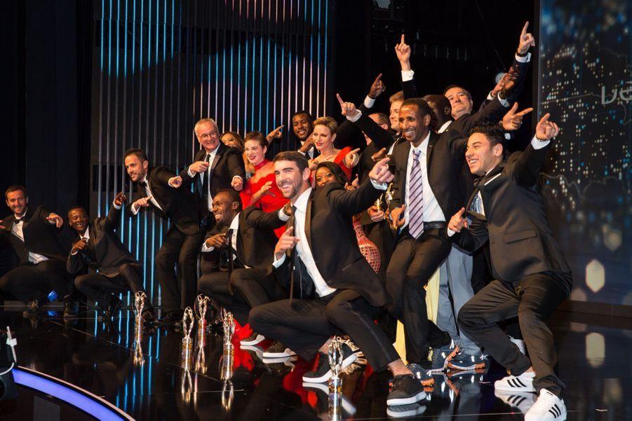 Charlene De Monaco Et Albert À La Cérémonie Des Laureus Sports Award 1 30