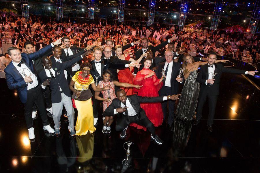 Charlene De Monaco Et Albert À La Cérémonie Des Laureus Sports Award 1 31