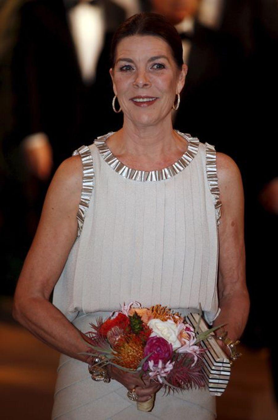 La princesse Caroline de Hanovre à Monaco, le 19 mars 2016