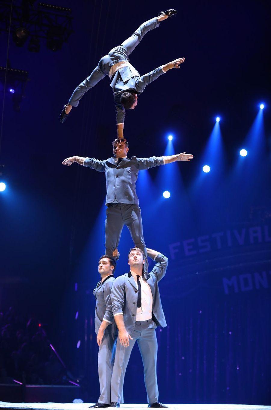 Le 43e Festival international du cirque de Monte-Carlo, représentation du 17 janvier 2019