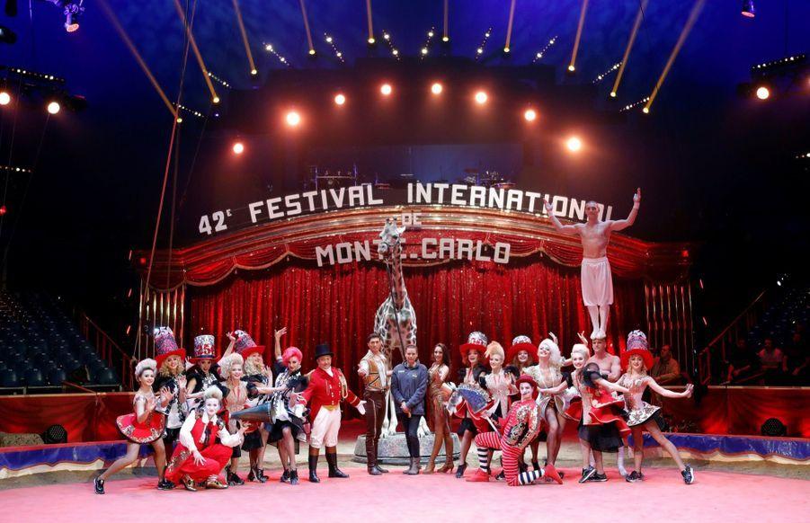 Stéphanie De Monaco Présente Le 42e Festival International Du Cirque De Monte Carlo 1