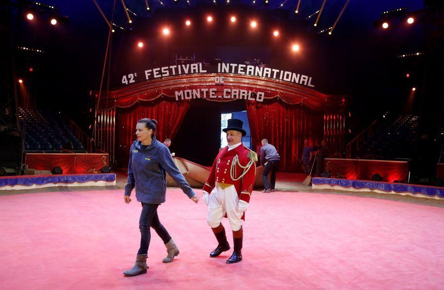Stéphanie De Monaco Présente Le 42e Festival International Du Cirque De Monte Carlo 10