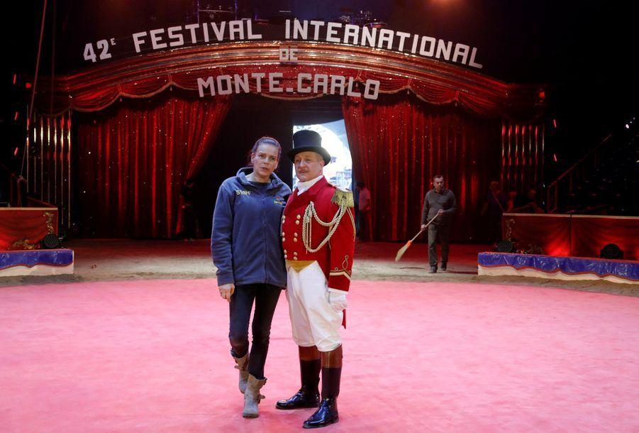 Stéphanie De Monaco Présente Le 42e Festival International Du Cirque De Monte Carlo 14