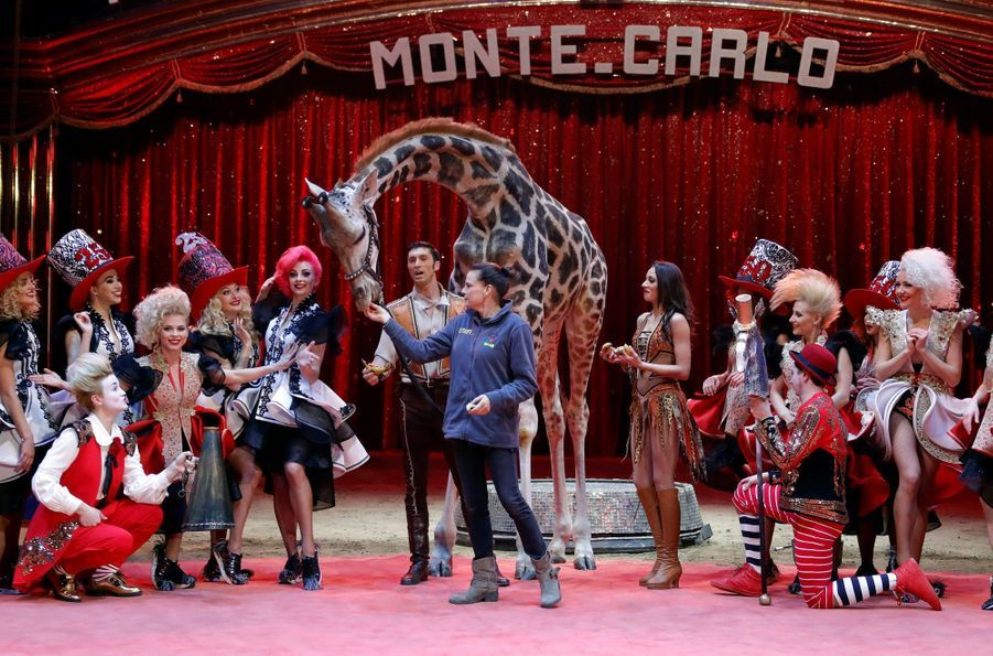 Stéphanie De Monaco Présente Le 42e Festival International Du Cirque De Monte Carlo 16