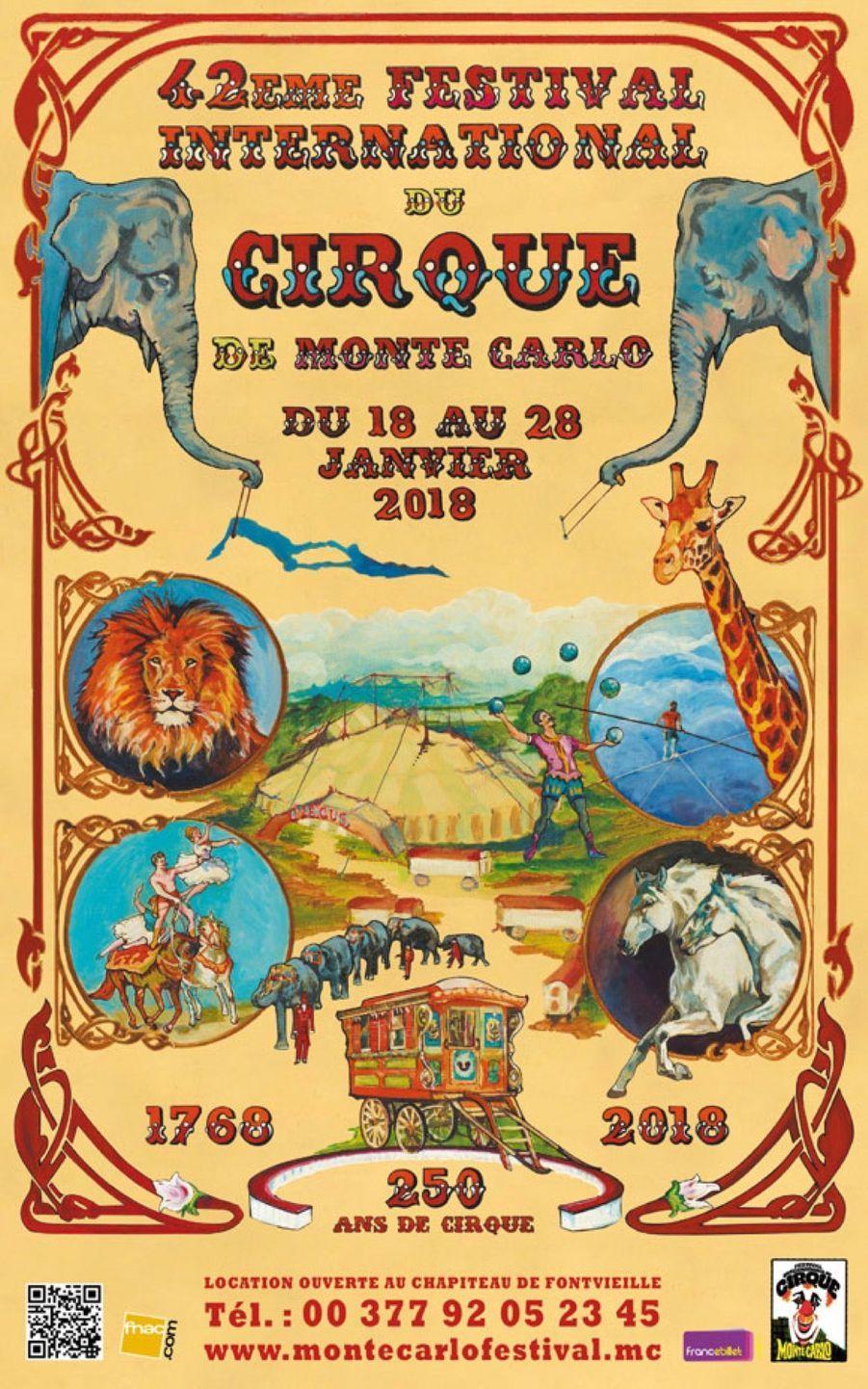 Stéphanie De Monaco Présente Le 42e Festival International Du Cirque De Monte Carlo 18
