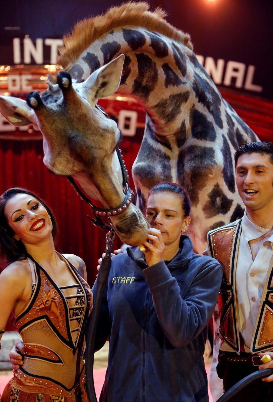 Stéphanie De Monaco Présente Le 42e Festival International Du Cirque De Monte Carlo 2