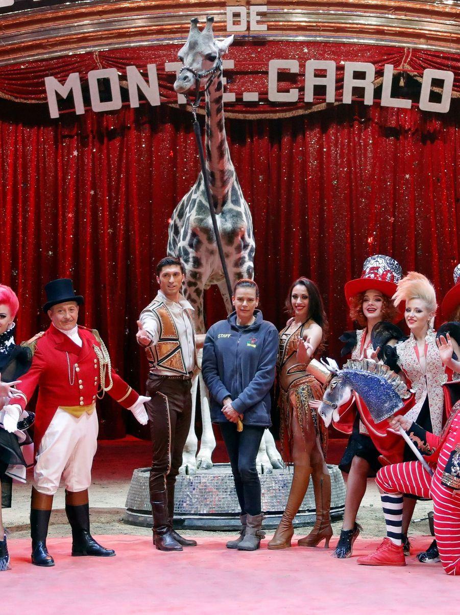 Stéphanie De Monaco Présente Le 42e Festival International Du Cirque De Monte Carlo 6