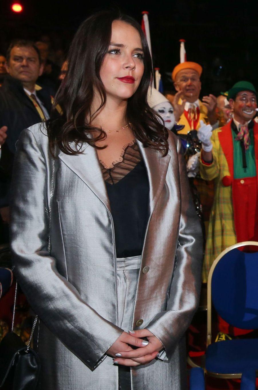 Pauline Ducruet à Monaco, le 18 janvier 2018
