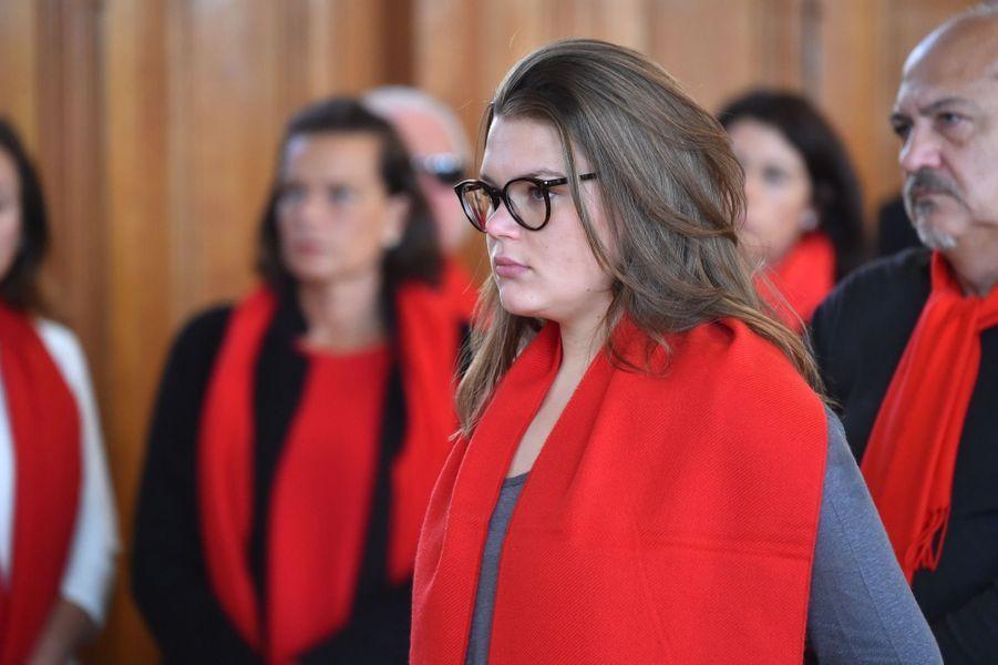 """La Princesse Stéphanie De Monaco Et Sa Fille Camille Gottlieb Au Déploiement Des """"Courtepointes"""" En Mémoire Des Victimes Du SIDA 5"""