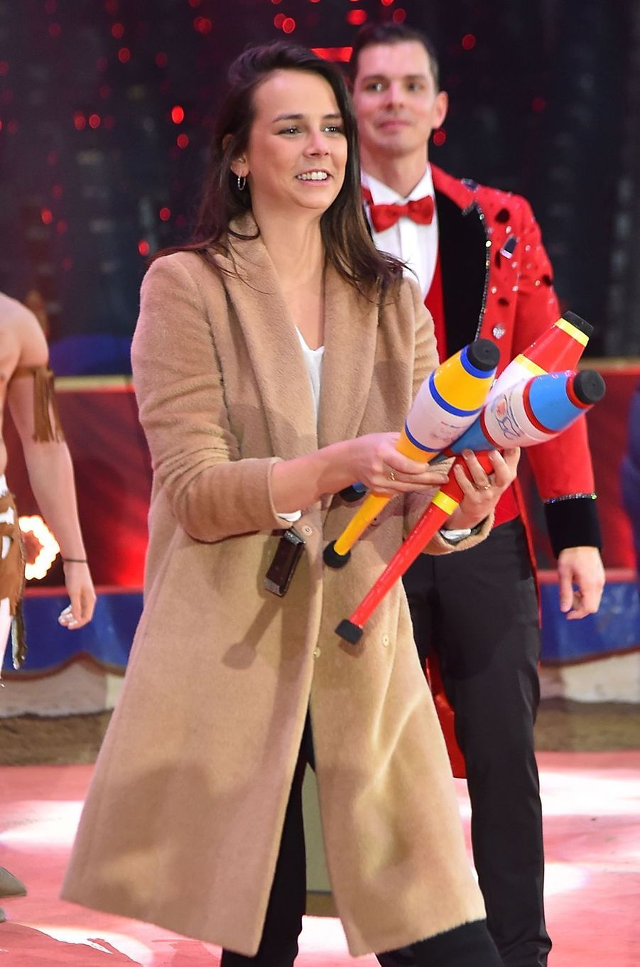 Pauline Ducruet à Monaco, le 1er février 2018