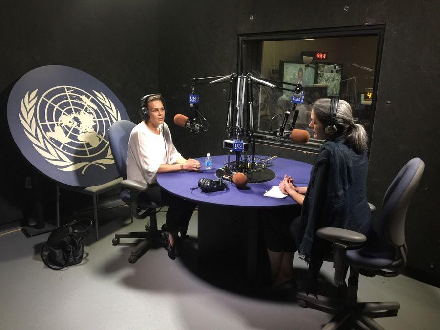 Stéphanie de Monaco porte son combat contre le sida à l'ONU