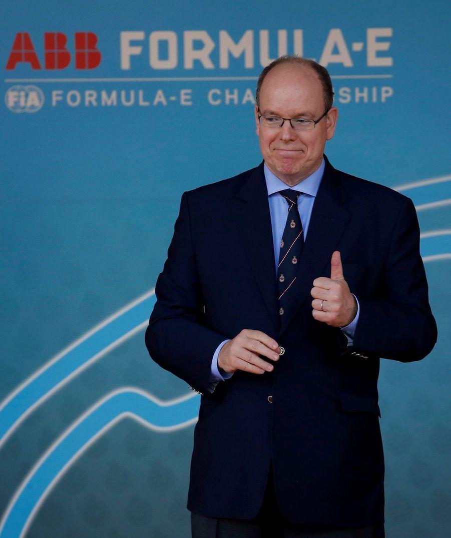 Leprince Albert II de Monaco- 3ème Monaco E-Prix, Monaco, le 11 mai 2019.