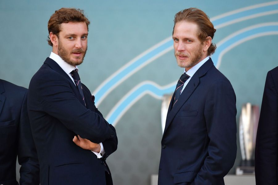 Andrea Casiraghi et son frère Pierre Casiraghi