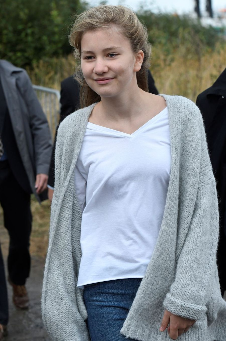 La princesse héritière Elisabeth de Belgique, le 2 octobre 2016