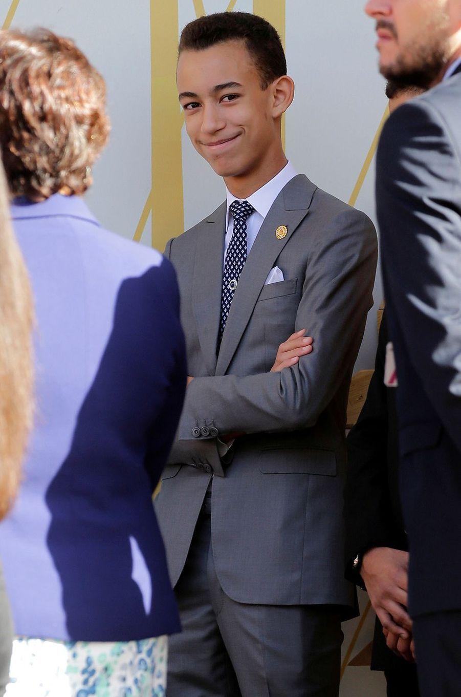 Le prince héritier Moulay El Hassan du Maroc, le 17 novembre 2016