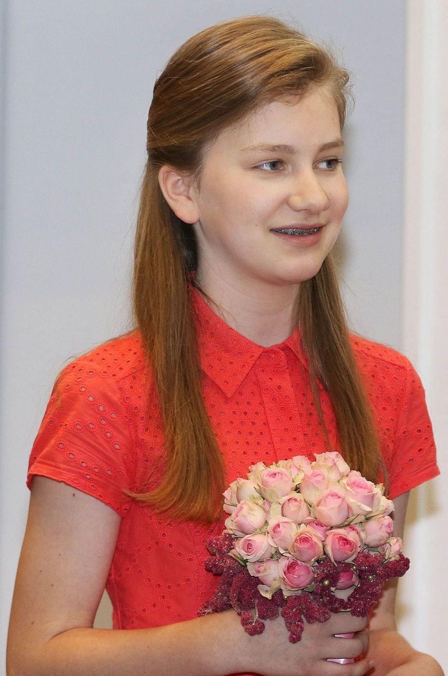 La princesse héritière Elisabeth de Belgique, le 3 juillet 2016