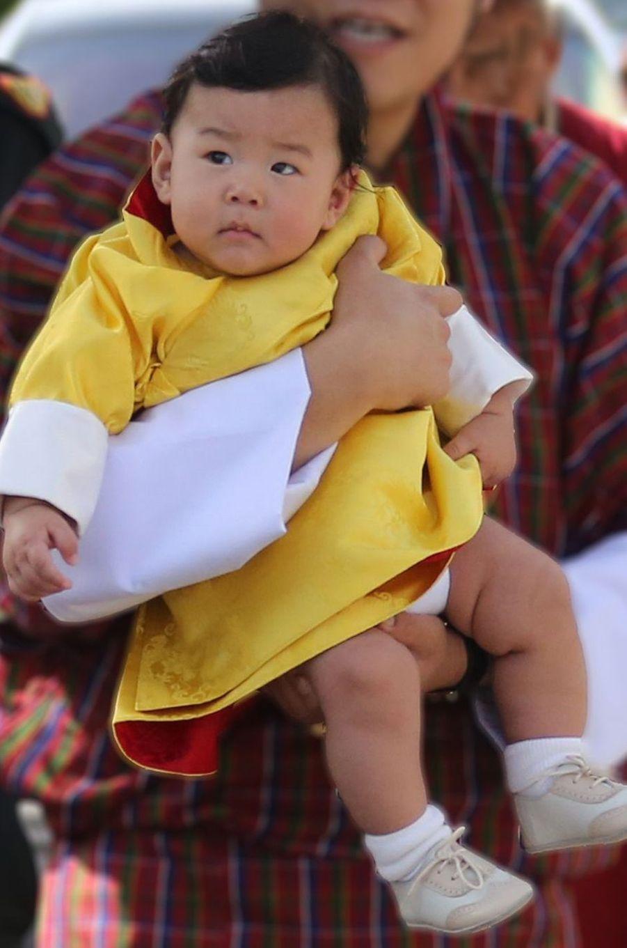 Le prince héritier du Bhoutan Jigme Namgyel Wangchuck, le 9 août 2016