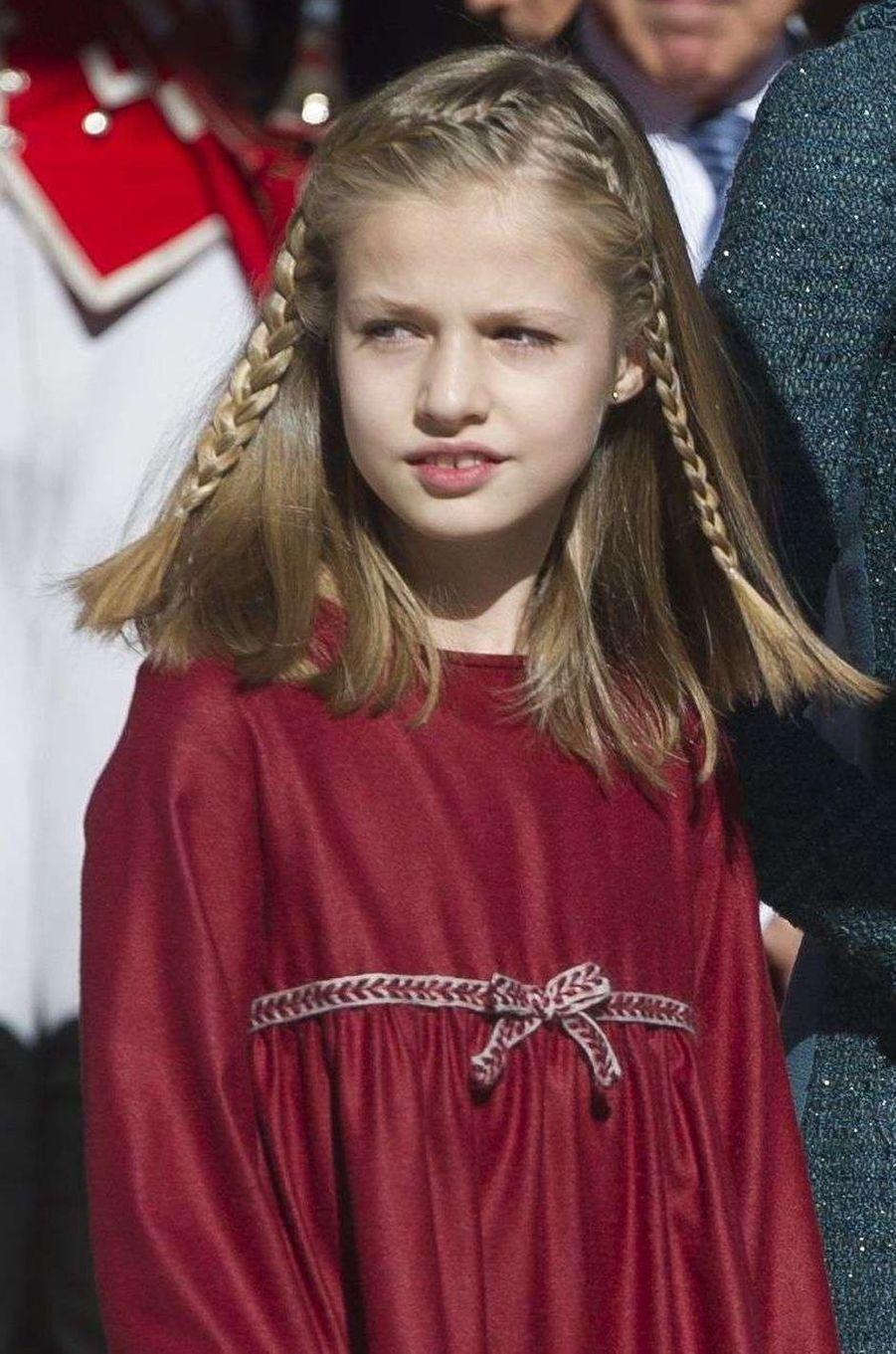 La princesse héritière Leonor d'Espagne, le 17 novembre 2016