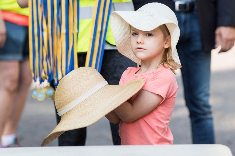 La princesse Estelle de Suède, le 11 septembre 2016