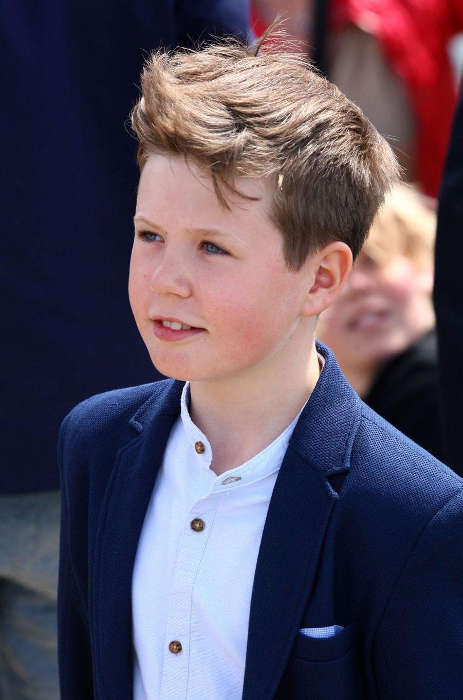 Le prince Christian de Danemark, le 22 mai 2016