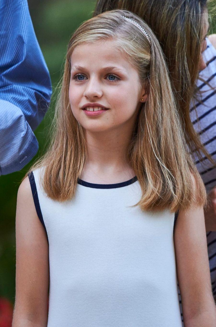 La princesse héritière Leonor d'Espagne, le 4 août 2016