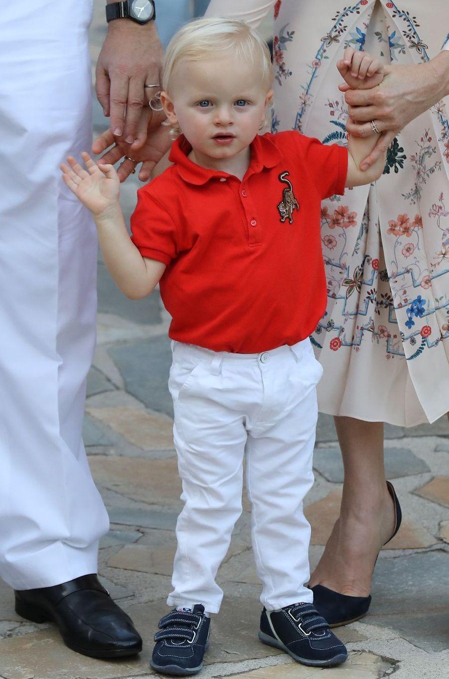 Le prince héréditaire Jacques de Monaco, le 10 septembre 2016
