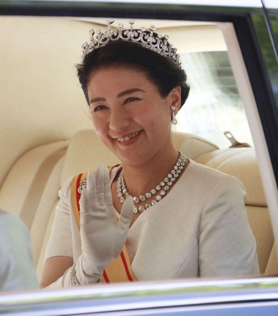Masako, nouvelle impératrice du Japon, le 1er mai 2019