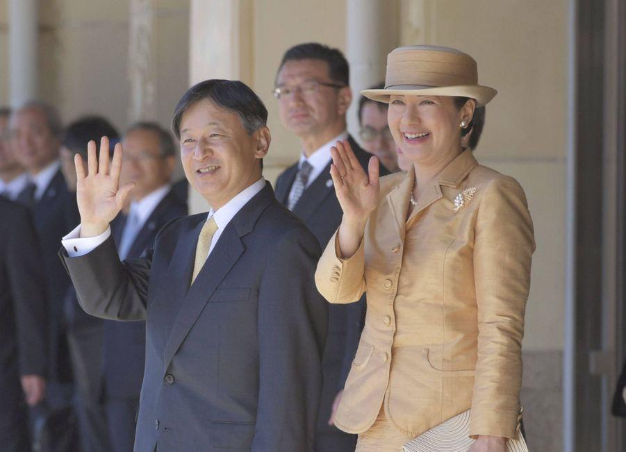 L'impératrice Masako du Japon dans la province d'Ise pour les dernières cérémonies de l'intronisation, le 23 novembre 2019