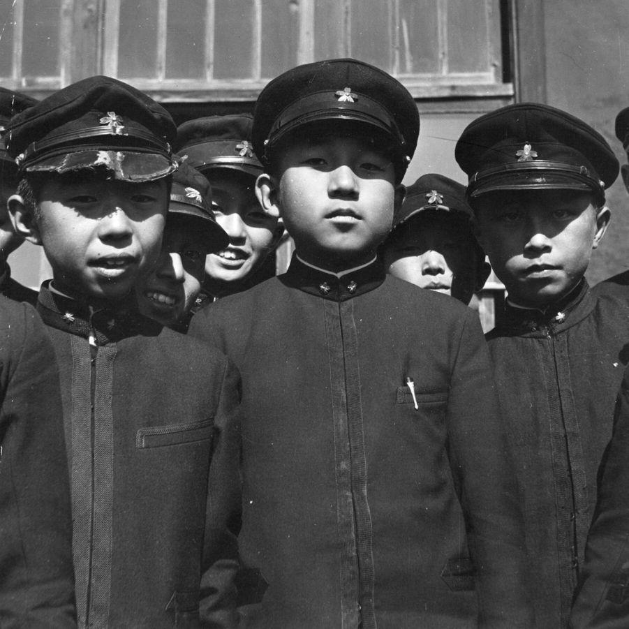Le prince Akihito du Japon en 1938