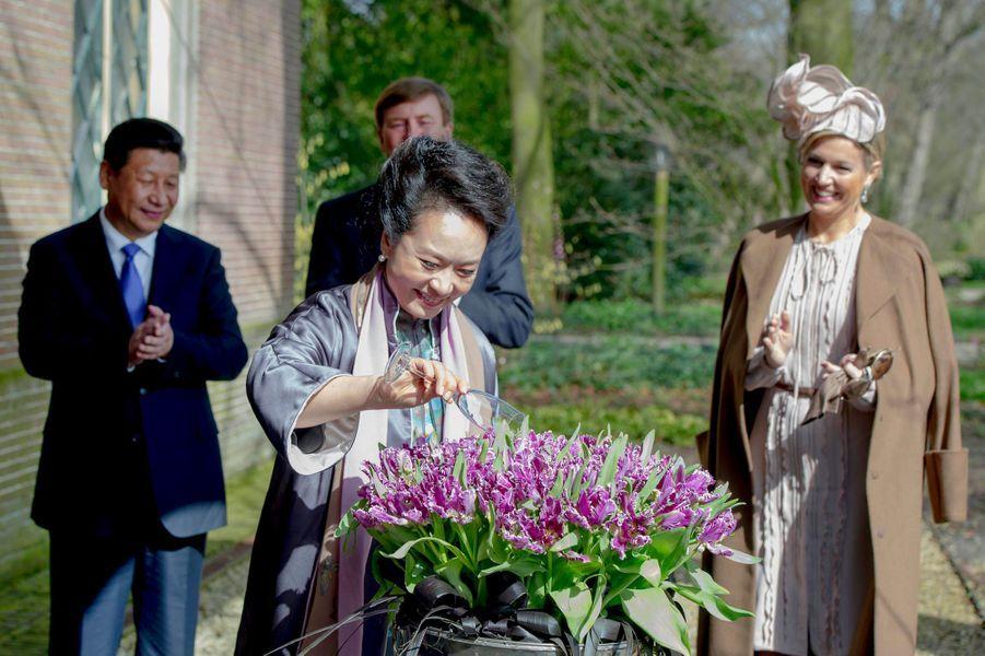 Accueil royal pour le président chinois