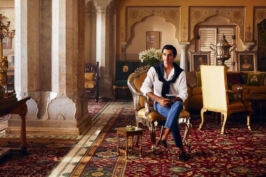 Le maharaja Sawai Padmanabh Singh au City Palace de Jaipur