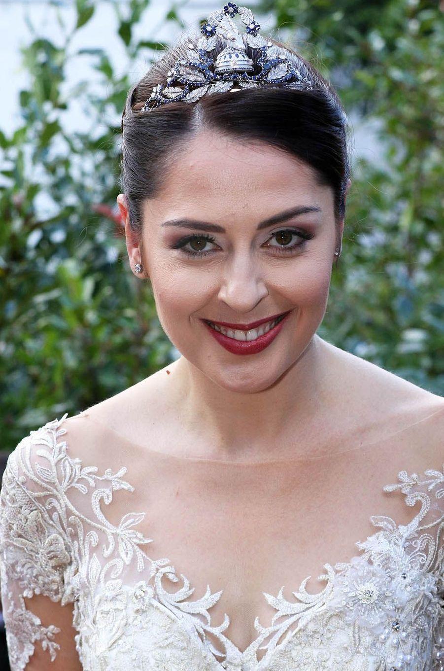L'actrice Elia Zaharia.