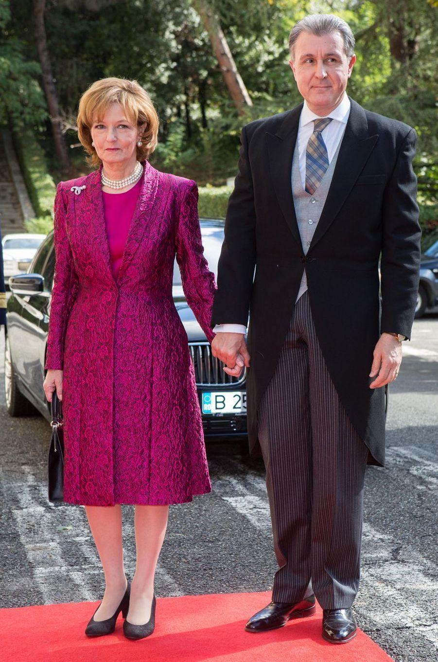 La princesse Margareta et le prince de Roumanie Radu