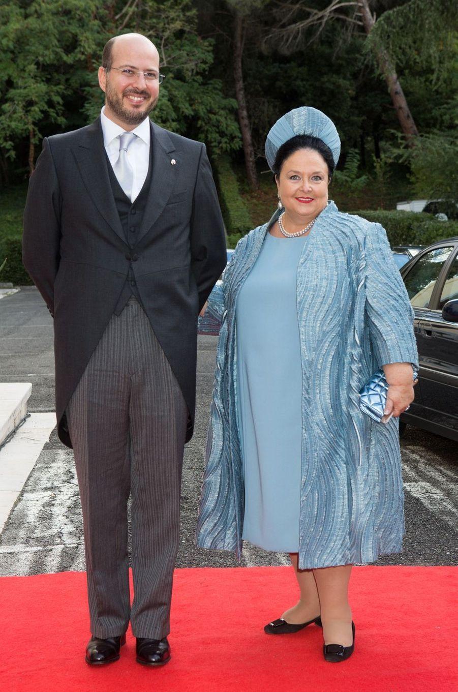 La grande duchesse Maria de Russie et le Prince Ali d'Egypte