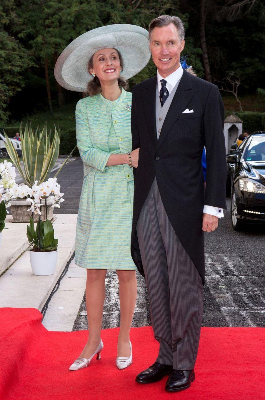 Le prince Guillaume et la princesse Sibilla du Luxembourg