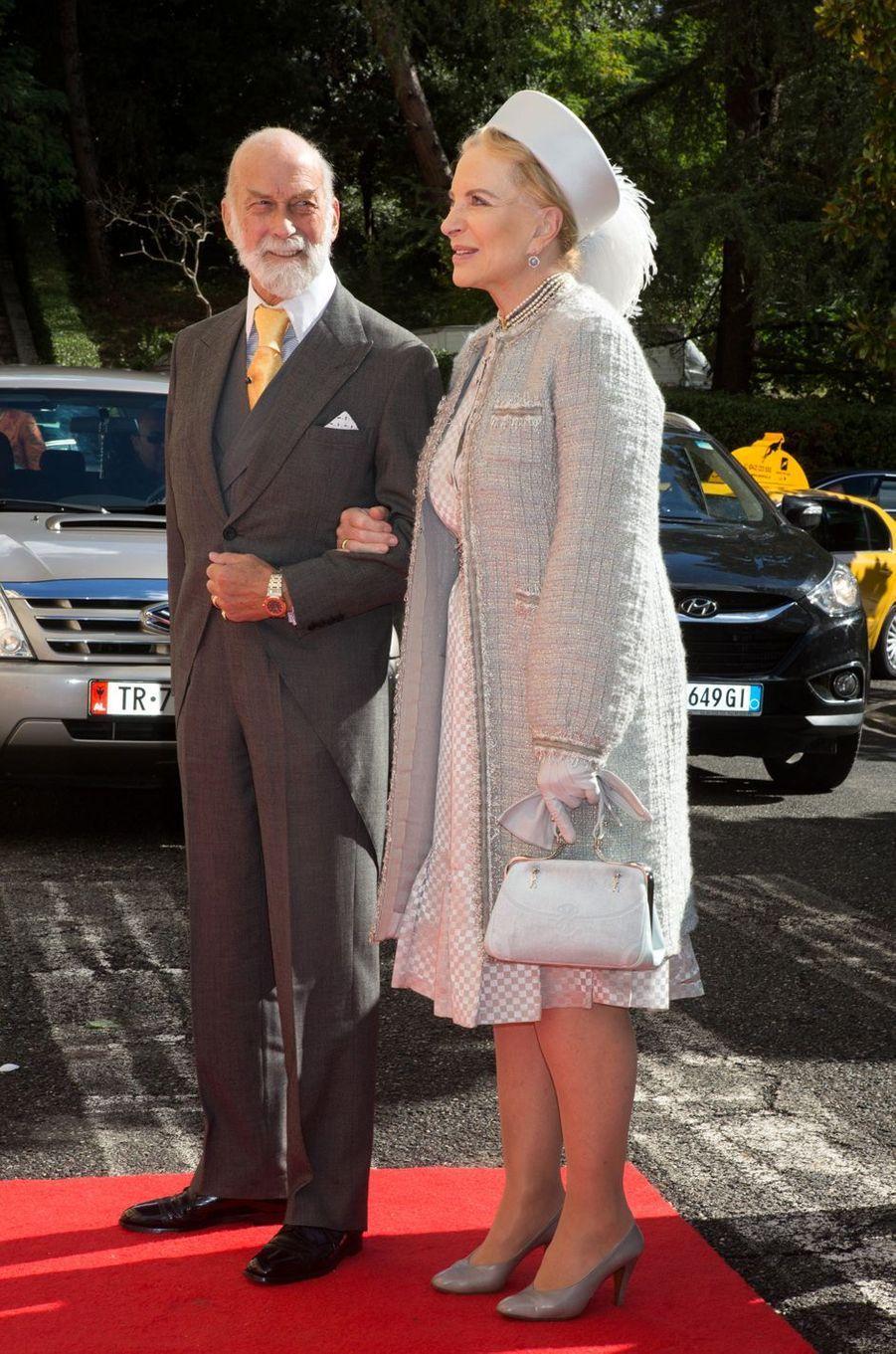 Le prince et la princesse Michael de Kent du Royaume-Uni