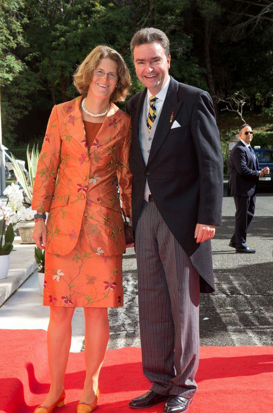 L'archiduchesse Eilika d'Oldenbourg et l'archiduc Georges de Habsbourg-Lorraine