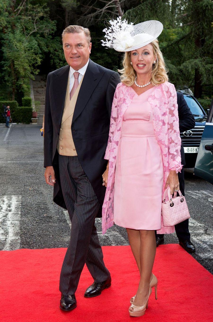 La princesse Camilla de Bourbon-Deux-Siciles, duchesse de Castro et le prince Carlo de Bourbon-Deux-Siciles, duc de Castro