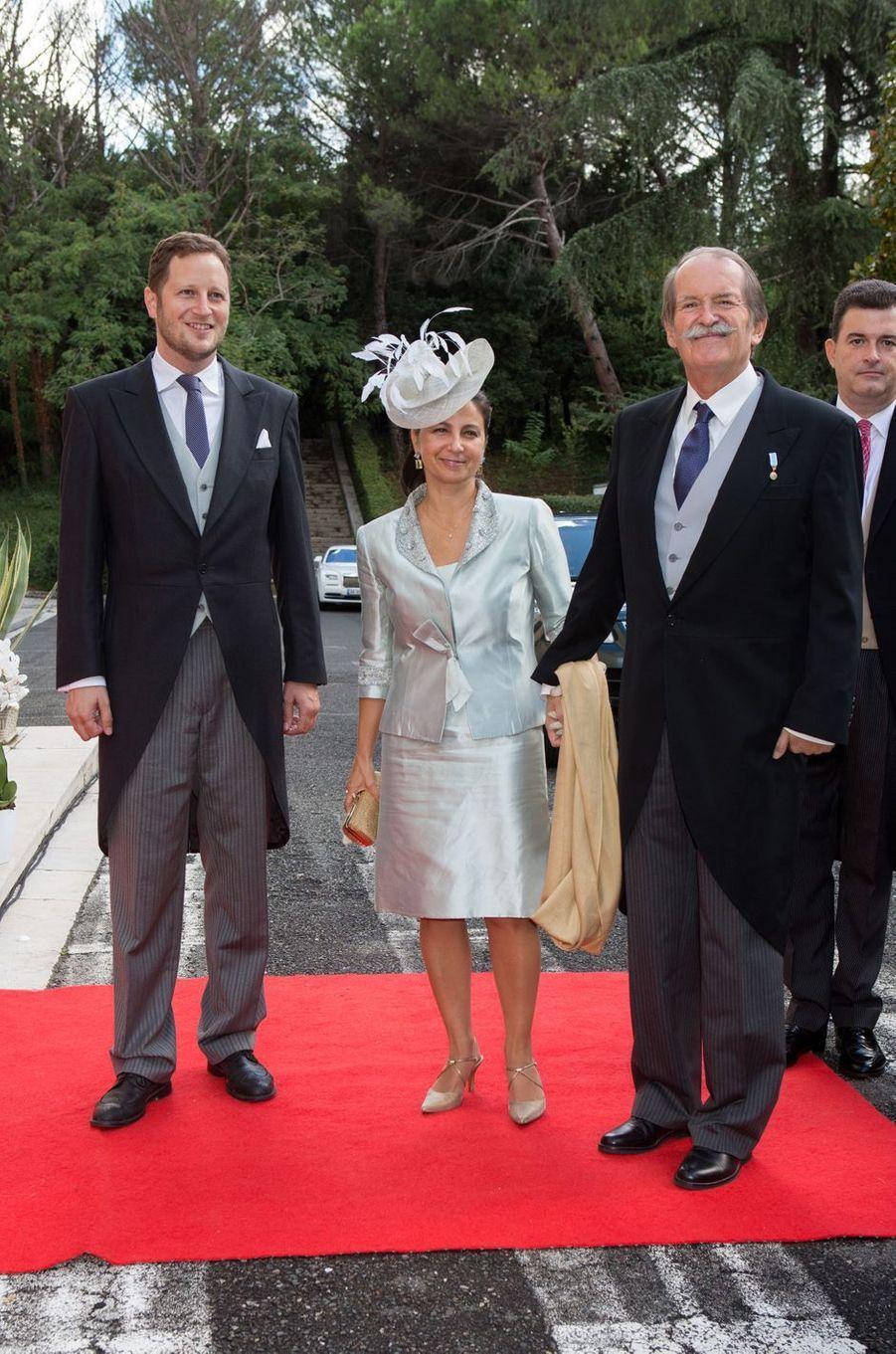 Le duc et la duchesse de Braganza, Portugal